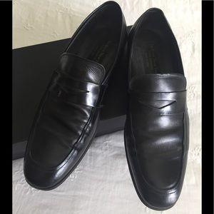 To Boot New York Black Slip On Size 10